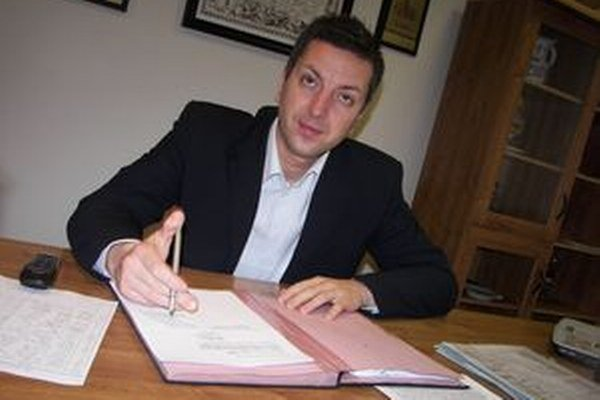 Novobanský primátor Ján Havran.