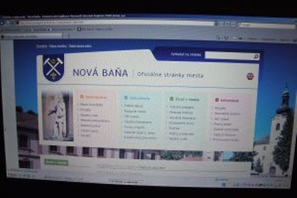 Novobanský web má nový dizajn.