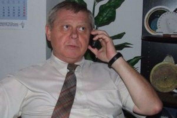 Peter Augustín, riaditeľ Krajskej hvezdárne a planetária Maximiliána Hella v Žiari nad Hronom.