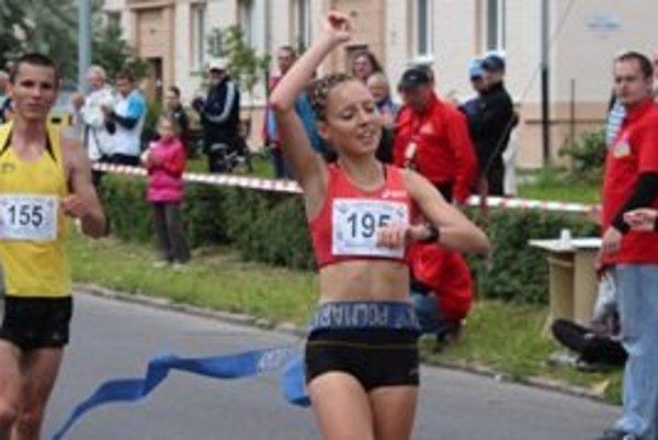 Katarína Berešová pokorila najrýchlejší čas Žiarskeho mestského polmaratónu.