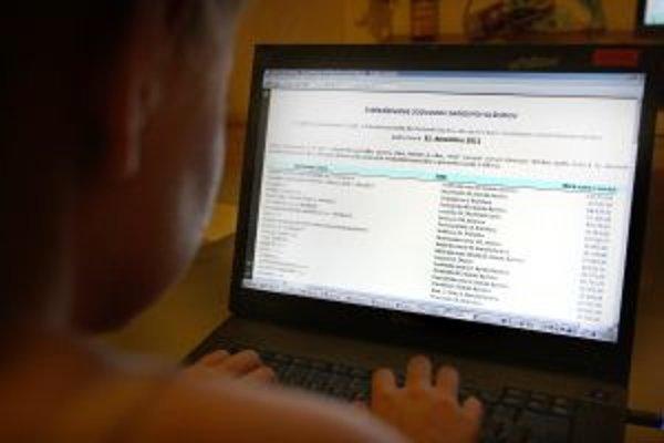 Zoznam dlžníkov na mestskom webe má mať preventívny účinok.