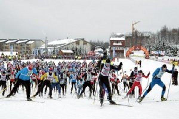 Takmer 600 bežcom odštartovalo na 25 a 45 km. preteku voľným štýlom.