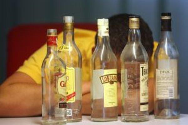 Alkohol v regióne popíja aj 13-, 14.ročná mládež.