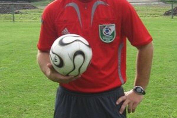 Martin Tapfer. Arbiter SsFZ, ktorý sa predstaví na turnaji v zahraničí.