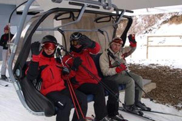 V lyžiarskom stredisku sú napriek menšiemu počtu návštevníkov z cudziny so sezónou spokojní.
