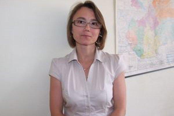 Jana Holá. Bývalá prednostka Mestského úradu v Novej Bani je v súčasnosti manažérkou pre rozvoj mesta.