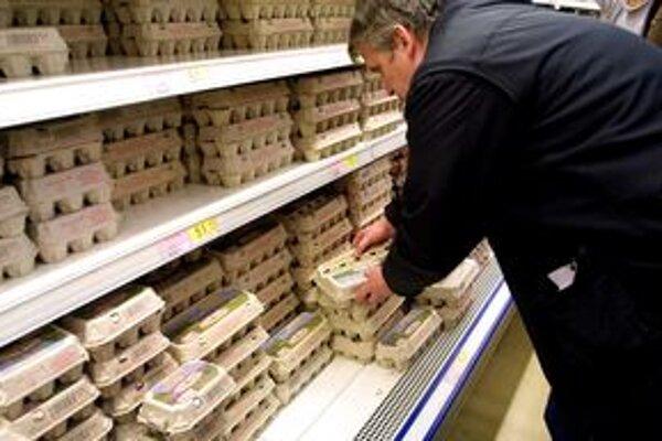 Salmonellu našli hygienici vo vajciach.