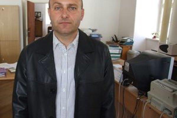 Vladimír Kratoš, nový náčelník štiavnických mestských policajtov.