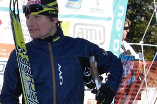 Radek Šretr si po druhom mieste na 42 kilometrov voľným štýlom vybojoval prvenstvo na 25 kilometrovej trase klasicky.