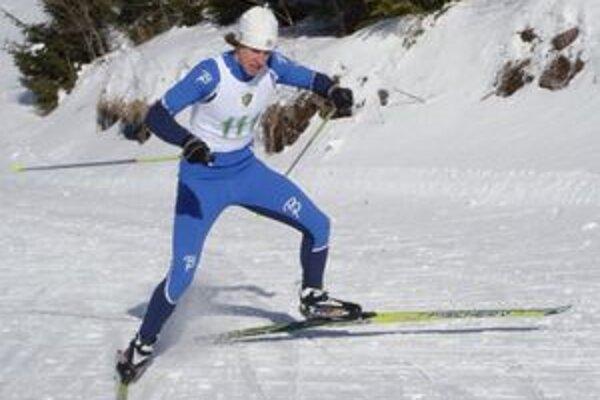 Martin Kapšo počas pretekov na Slovensku.