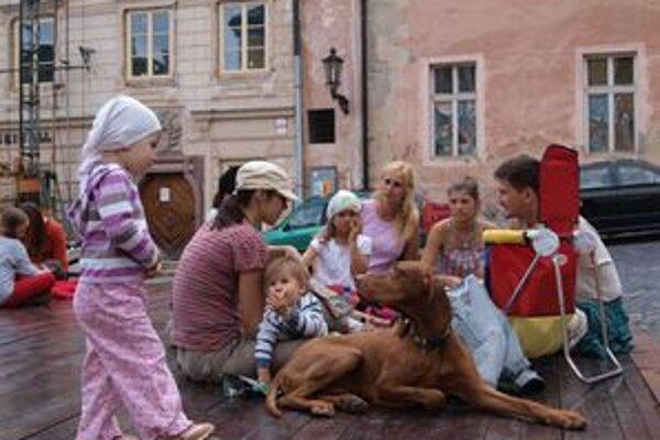 Piknik na Trojici. Patrícia s rodinou z Bratislavy naň zablúdili náhodou.