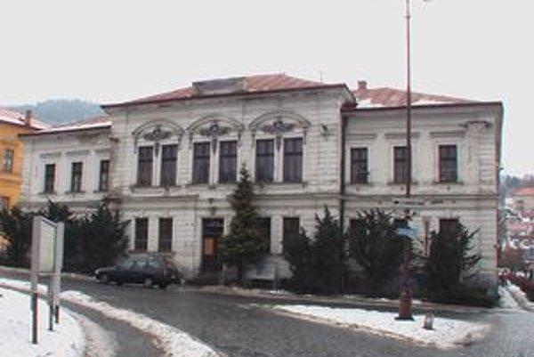 Kremnické kultúrne stredisko zrekonštruujú.