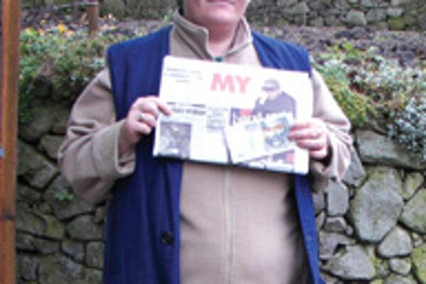 Anna Bartošová číta naše noviny pravidelne už dva roky.