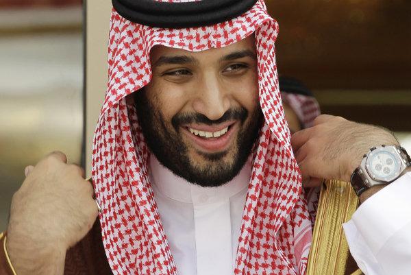Princ Saudskej Arábie Muhammad bin Salmán.