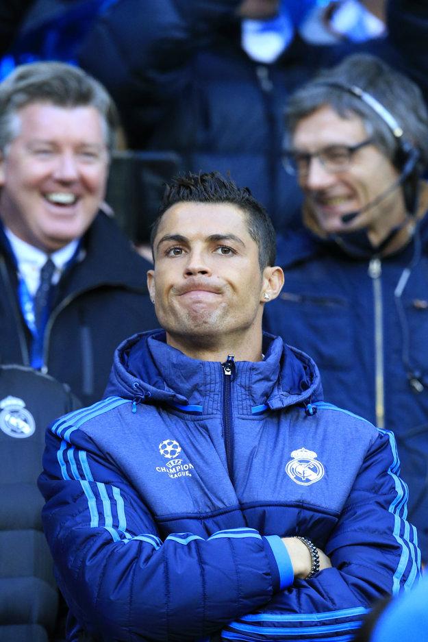 Cristiano Ronaldo do dnešného zápasu nezasiahne.