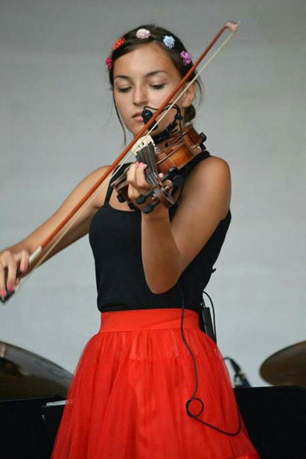 Lara Šamajová sa predstavila divákom aj na súťaži Krásno hľadá talent.