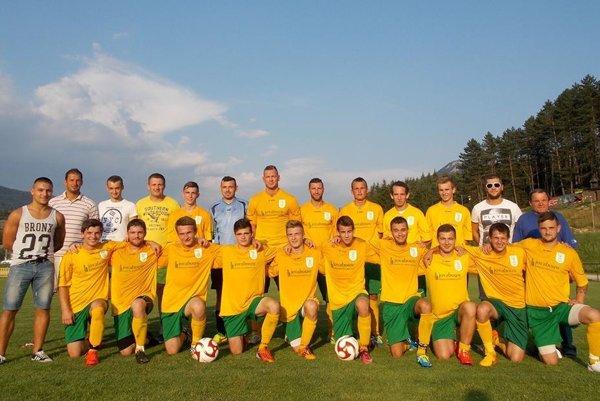 Futbalisti FK Terchová pred sezónou 2015/2016.