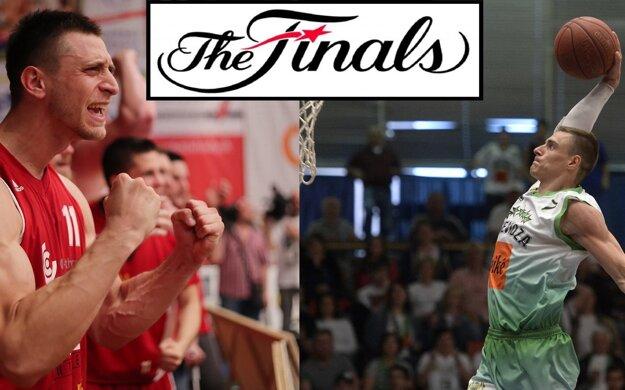 Súboje medzi basketbalistami Komárna (v červenom) a Prievidze mali zatiaľ v úvodných troch zápasoch vždy rovnakého víťaza.