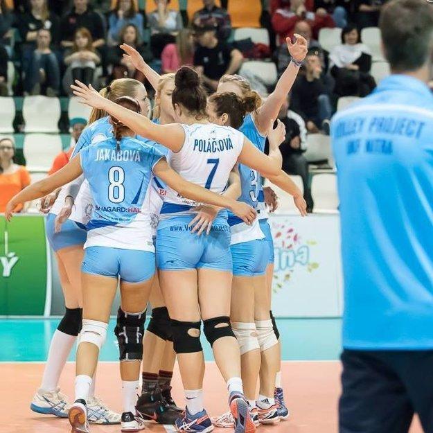 Lucia je najmladšou hráčkou Volley project UKF Nitra.