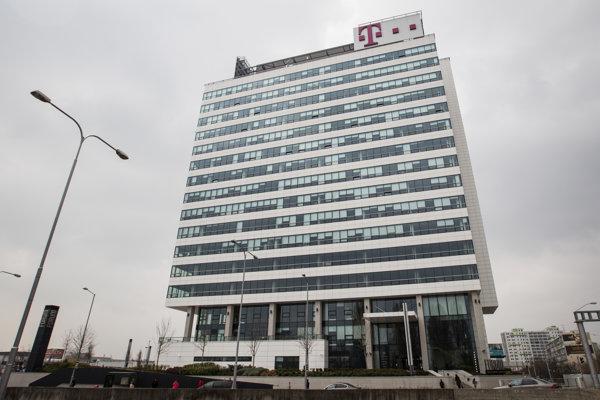 Sídlo Slovak Telekomu v Bratislave.