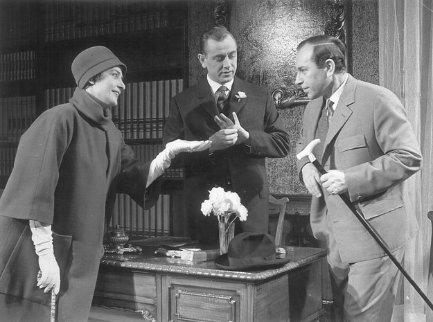 Milionárka (1960), Mária Prechovská(Epifana),Karol machata(Sagamore),Ctibor Filčík(Adrian)