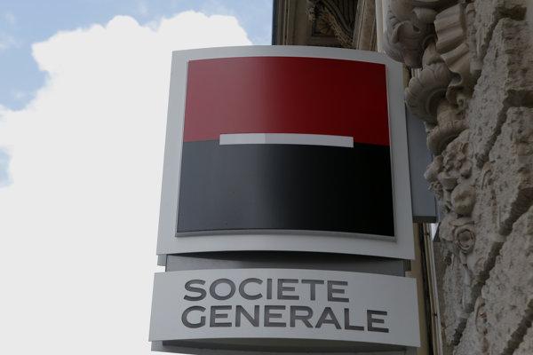 Francúzska banka Societe General.