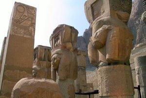 Chrám v Luxore.