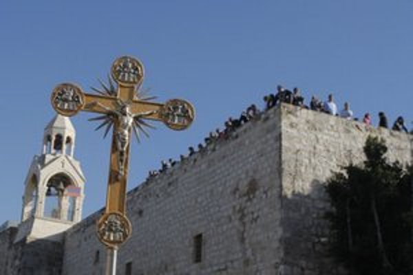Betlehemská bazilika.
