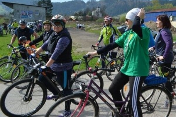 Na tretí ročník sa postavilo 50 milovníkov bicyklov.