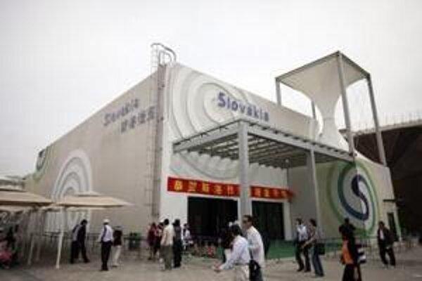 O slovenský pavilón na svetovej výstave v Šanghaji je záujem.