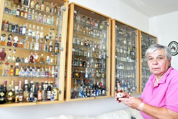 Mária Šuňalová so svojím pokladom.
