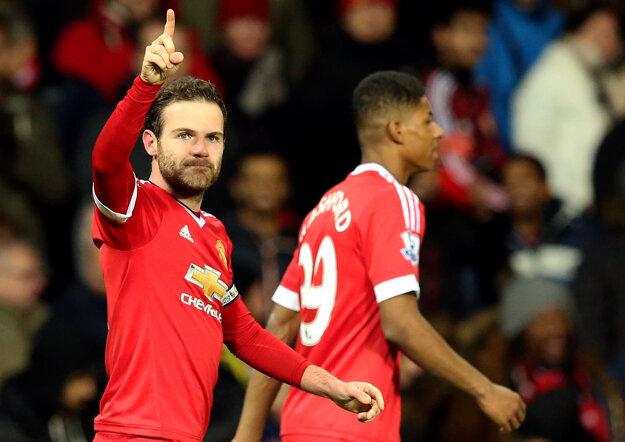 Juan Mata dúfa, že sa s United dostane do Ligy majstrov.
