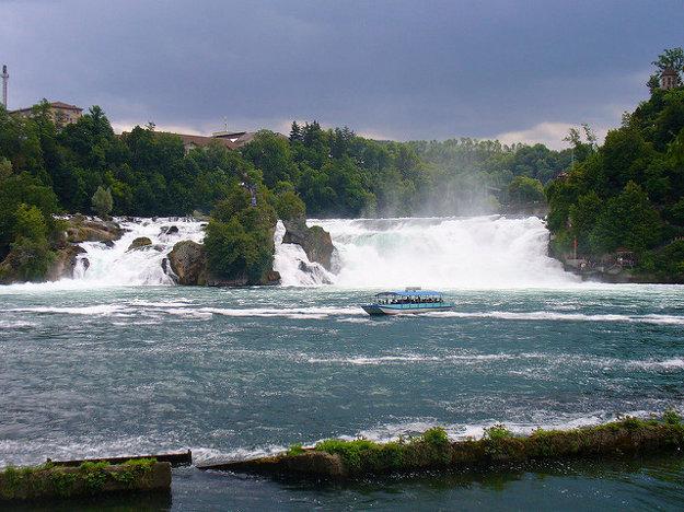 Rýnske vodopády.