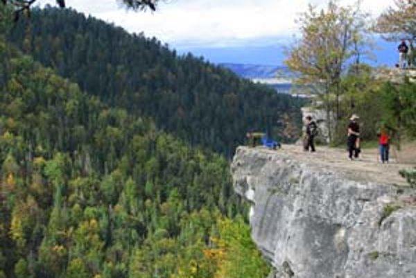 Turisti budú mať v Slovenskom raji viac trás.