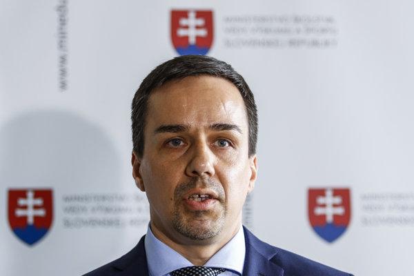Štátny tajomník rezortu školstva Erik Tomáš.