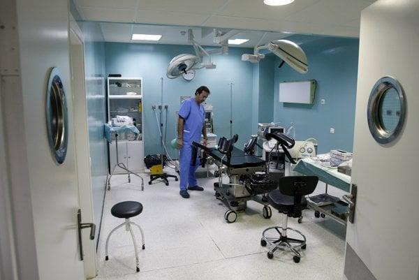 Klinika pre umelé prerušenie tehotenstva.