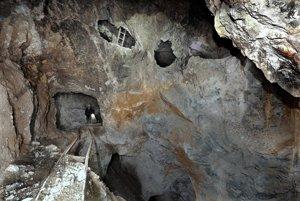 Baňa Rozália je posledná aktívna baňa ťažiaca zlatú rudu hlbinným spôsobom v strednej Európe. FOTO - ĽUBOMÍR LUŽINA