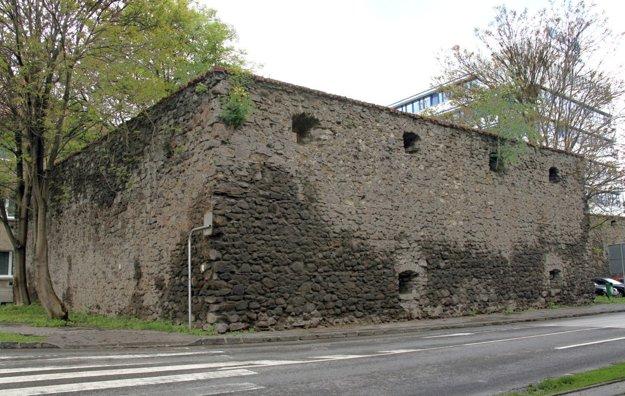 Severovýchodný bastión.