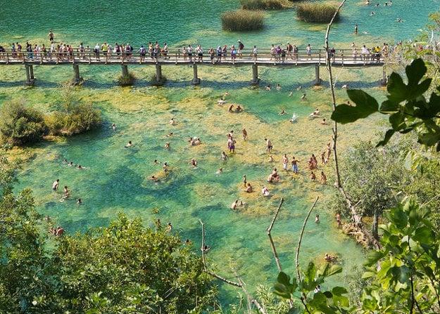 Národný park Krka, Chorvátsko.