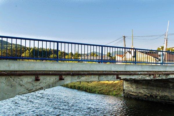 Most na Kuzmányho ulici.