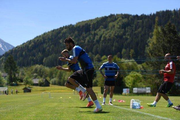 Vo Windischgarstene pracujú slovenskí futbalisti aj na kondičnej príprave.
