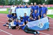 Muži AC Stavbár Nitra si účasť vEPM vybojovali víťazstvom vslovenskej lige vseptembri 2015.