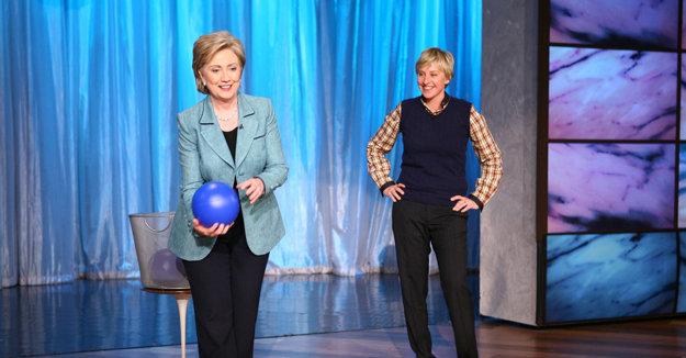 Hillary Clinton už u slávnej moderátorky a komičky Ellen DeGeneres viackrát bola.