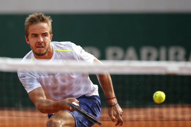 Andrej Martin sa na Roland Garros dostal z kvalifikácie až do tretieho kola.