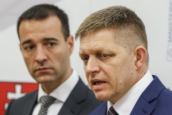 Premiér Fico sa stretol s ministrom Druckerom.