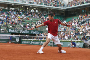 Djokovič v súčasnosti bojuje na Roland Garros.
