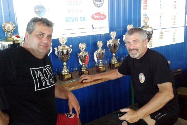 Hlavnými organizátormi Nitrava Cupu sú Juraj Bubák (vľavo) a Miloš Dovičovič.