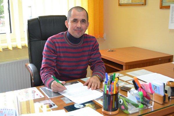 Riaditeľ Reedukačného centra v Čerenčanoch Gabriel Bodnár.