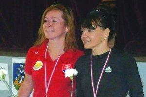 Levičanka Monika Kováčová (vpravo) bola na trati v Hronovciach najrýchlejšou ženou.