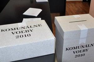 Komunálne voľby sa budú konať 15. novembra.